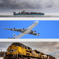Sea, air or land freight