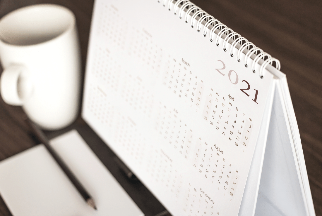 Key Dates For 2021