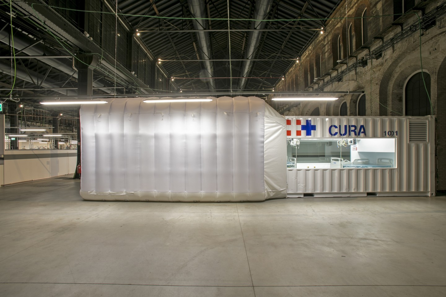 Shipping Container Hospital